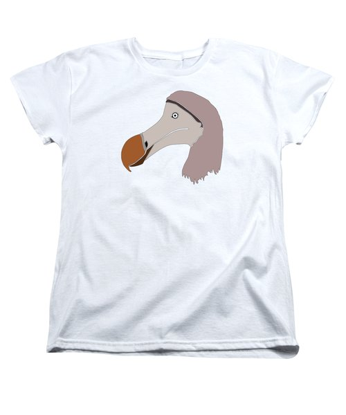 The Extinction Club - Dodo Women's T-Shirt (Standard Cut) by Marcus England