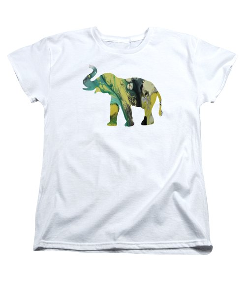 Elephant Women's T-Shirt (Standard Cut) by Mordax Furittus