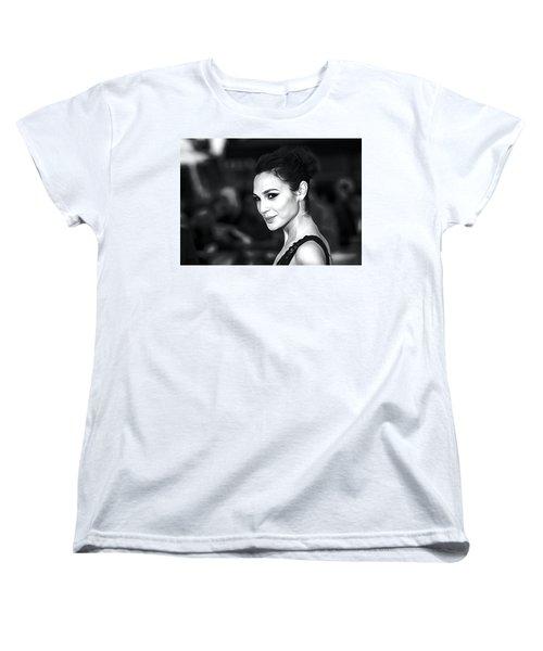 Gal Gadot Print Women's T-Shirt (Standard Cut) by Best Actors