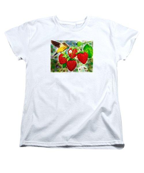 A Midsummer Daydream Women's T-Shirt (Standard Cut) by Asha Aravind