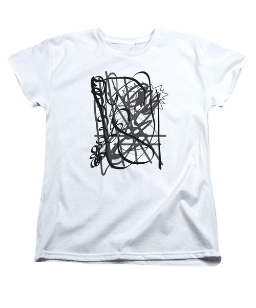 Abstract Women's T-Shirt (Standard Cut) by Oksana Demidova