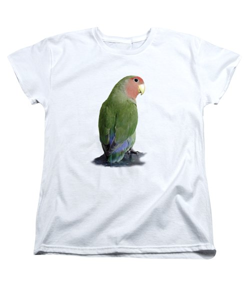 Adorable Pickle On A Transparent Background Women's T-Shirt (Standard Cut) by Terri Waters
