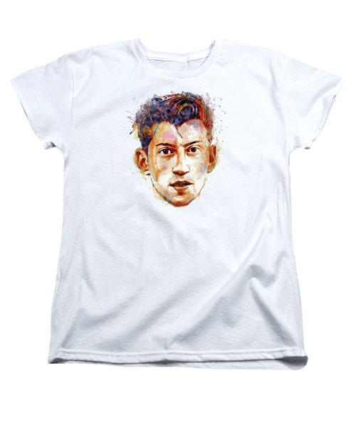 Alex Turner Women's T-Shirt (Standard Cut) by Marian Voicu