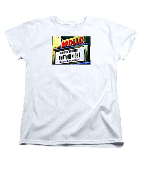 Amateur Night Women's T-Shirt (Standard Cut) by Ed Weidman
