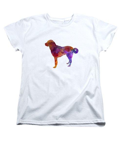 Anatolian Shepherd Dog In Watercolor Women's T-Shirt (Standard Cut) by Pablo Romero