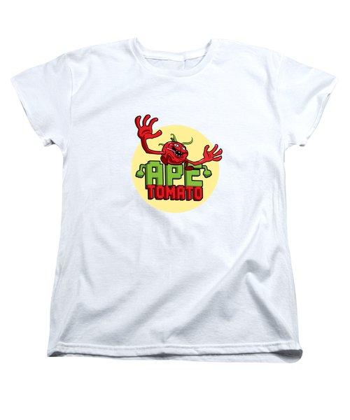 Ape Tomato Women's T-Shirt (Standard Cut) by Nicolas Palmer