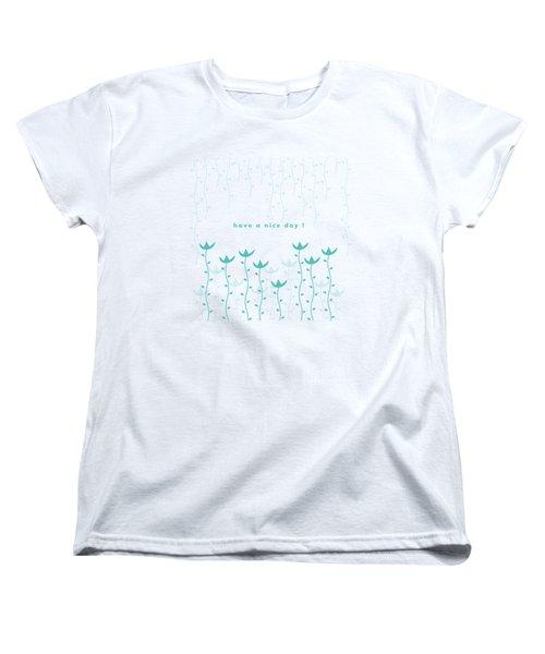 Nice Day Women's T-Shirt (Standard Cut) by Kathleen Wong