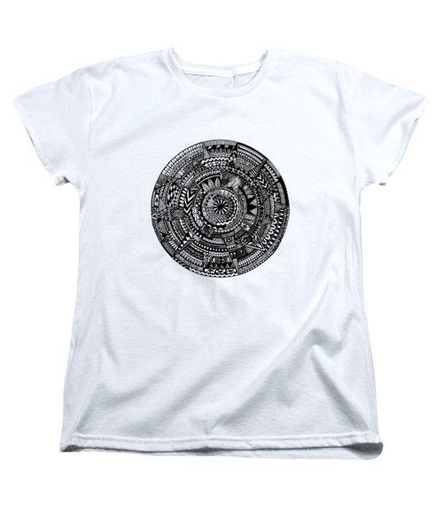 Asymmetry Women's T-Shirt (Standard Cut) by Elizabeth Davis