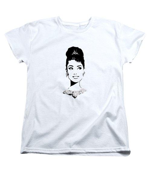 Audrey Women's T-Shirt (Standard Cut) by Rene Flores