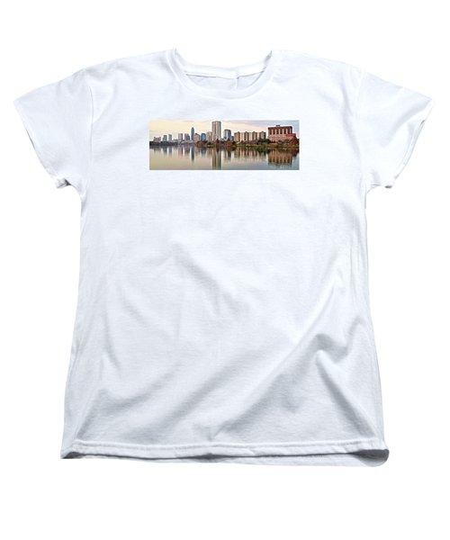 Austin Wide Shot Women's T-Shirt (Standard Cut) by Frozen in Time Fine Art Photography
