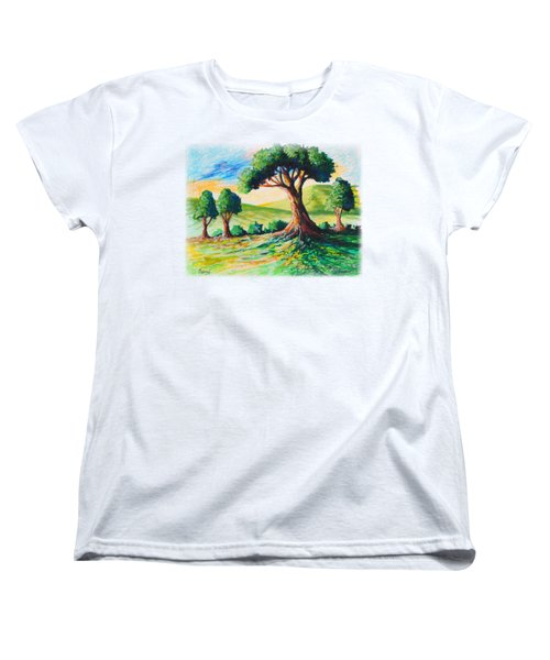 Basking In The Sun Women's T-Shirt (Standard Cut) by Anthony Mwangi