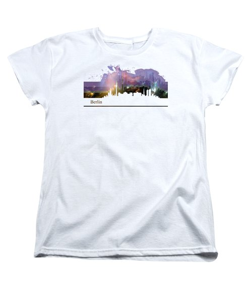 Berlin 2 Women's T-Shirt (Standard Cut) by Alberto RuiZ