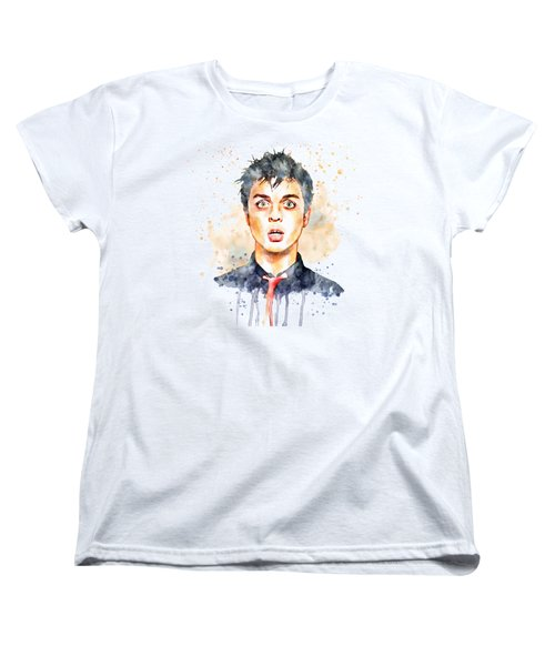 Billie Joe Armstrong Women's T-Shirt (Standard Cut) by Marian Voicu