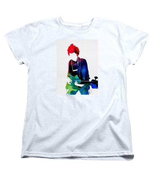 Bob Watercolor Women's T-Shirt (Standard Cut) by Naxart Studio