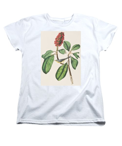 Bonaparte's Flycatcher Women's T-Shirt (Standard Cut) by John James Audubon