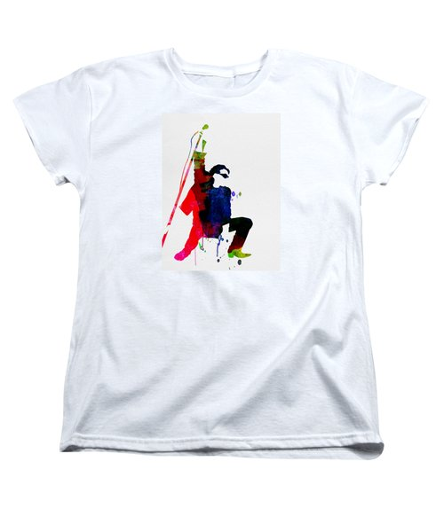Bono Watercolor Women's T-Shirt (Standard Cut) by Naxart Studio