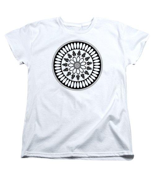 Botanical Ornament Women's T-Shirt (Standard Cut) by Frank Tschakert