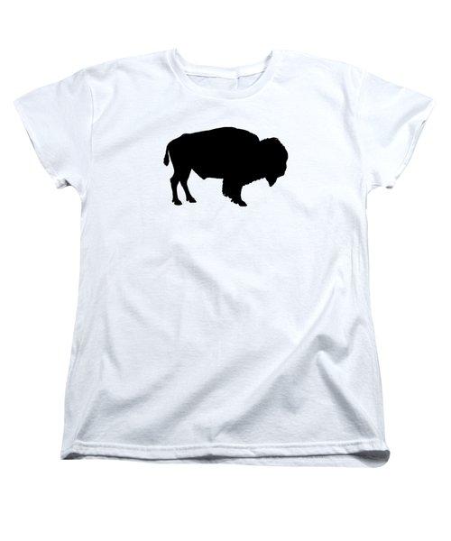Buffalo Women's T-Shirt (Standard Cut) by Mordax Furittus