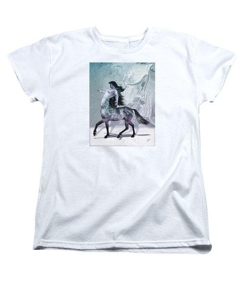 Centaur Cool Tones Women's T-Shirt (Standard Cut) by Quim Abella