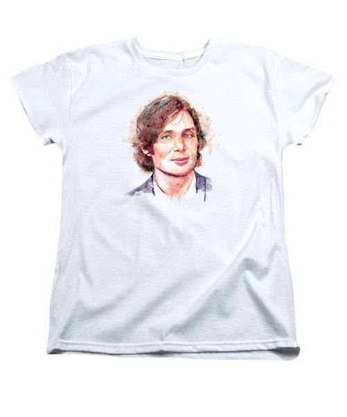 Cillian Murphy Women's T-Shirt (Standard Cut) by Marian Voicu