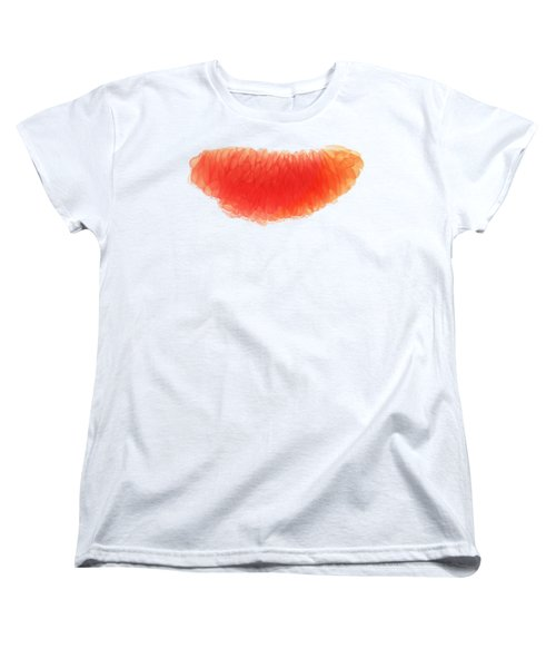 Citrus Smile Women's T-Shirt (Standard Cut) by Sverre Andreas Fekjan