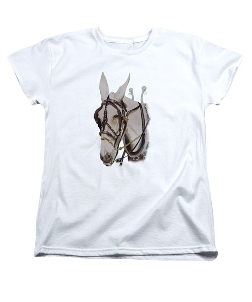 Connie The Mule Women's T-Shirt (Standard Cut) by Gary Thomas
