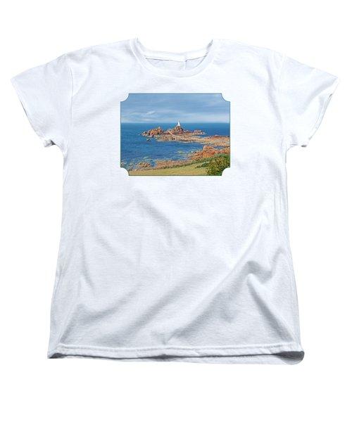 Corbiere Lighthouse Jersey Women's T-Shirt (Standard Cut) by Gill Billington