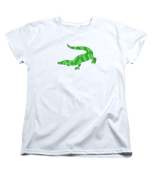 Crocodile Women's T-Shirt (Standard Cut) by Mordax Furittus