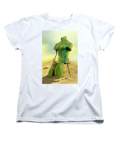 Crutches 2 Women's T-Shirt (Standard Cut) by Mike McGlothlen