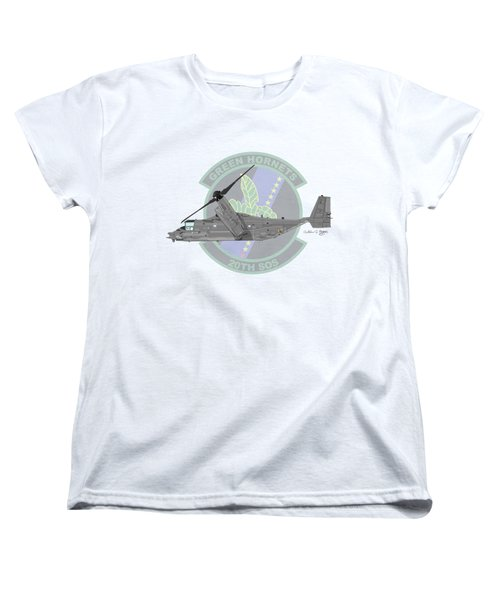 Cv-22b Osprey 20sos Women's T-Shirt (Standard Cut) by Arthur Eggers