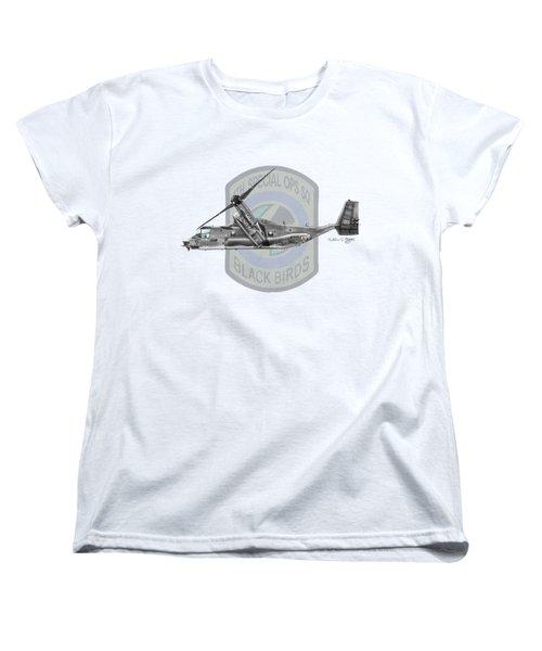 Cv-22b Osprey 8sos Women's T-Shirt (Standard Cut) by Arthur Eggers