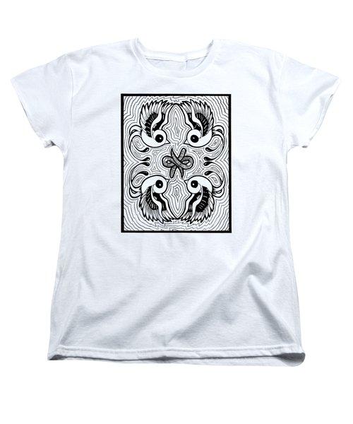 Da Boids Women's T-Shirt (Standard Cut) by Vicki Von Doom