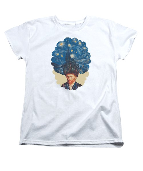 De Hairednacht Women's T-Shirt (Standard Cut) by Mustafa Akgul