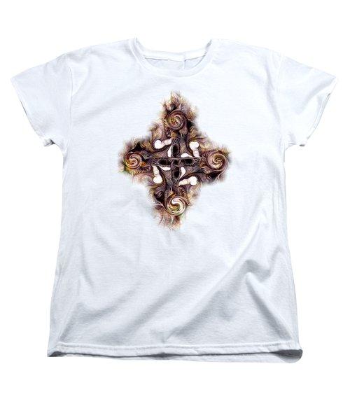 Desert Cross Women's T-Shirt (Standard Cut) by Anastasiya Malakhova
