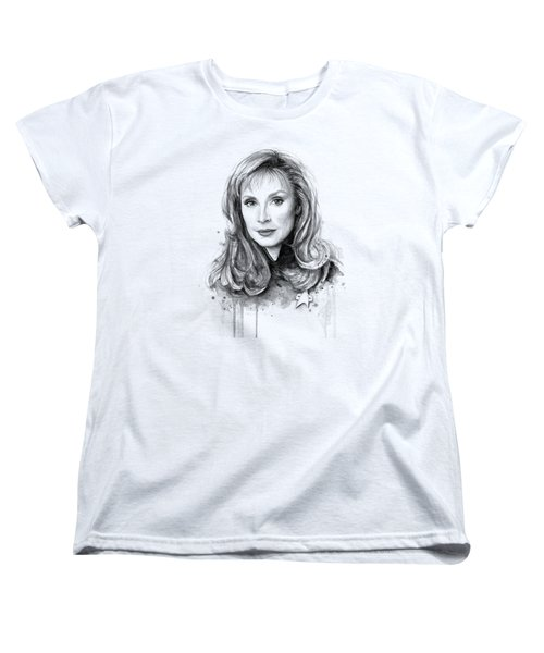 Doctor Beverly Crsuher Women's T-Shirt (Standard Cut) by Olga Shvartsur
