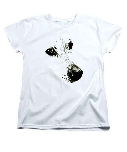 Dog Face Women's T-Shirt (Standard Cut) by Frank Tschakert