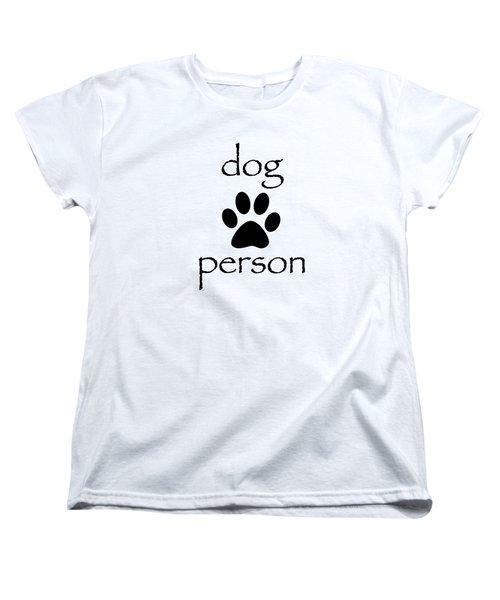 Dog Person Women's T-Shirt (Standard Cut) by Bill Owen