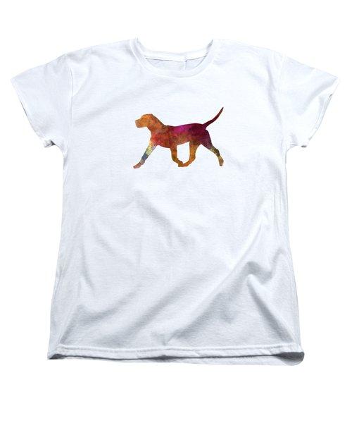 Dogo Canario In Watercolor Women's T-Shirt (Standard Cut) by Pablo Romero