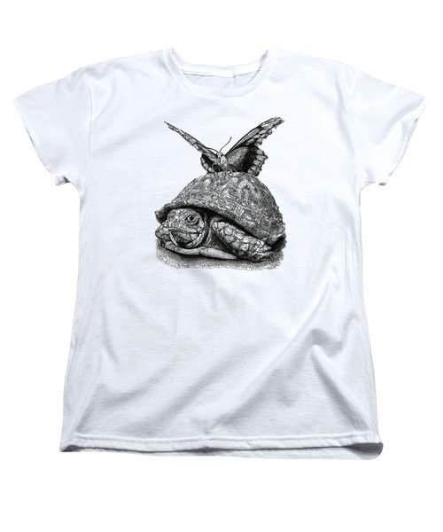 Dreams Of Flying Women's T-Shirt (Standard Cut) by Michael Volpicelli