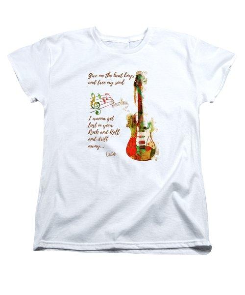 Drift Away Women's T-Shirt (Standard Cut) by Nikki Marie Smith