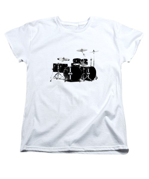 Drum Women's T-Shirt (Standard Cut) by David Balber