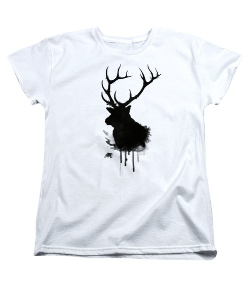 Elk Women's T-Shirt (Standard Cut) by Nicklas Gustafsson