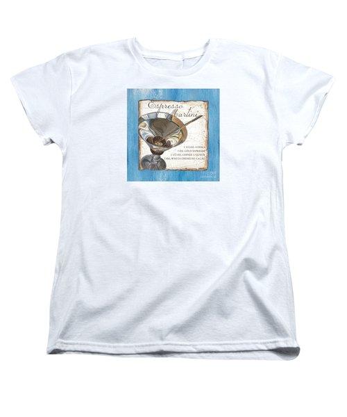 Espresso Martini Women's T-Shirt (Standard Cut) by Debbie DeWitt