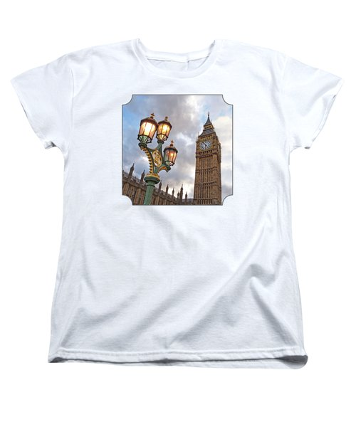 Evening Light At Big Ben Women's T-Shirt (Standard Cut) by Gill Billington