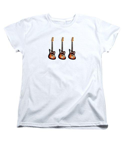 Fender Jaguar 67 Women's T-Shirt (Standard Cut) by Mark Rogan
