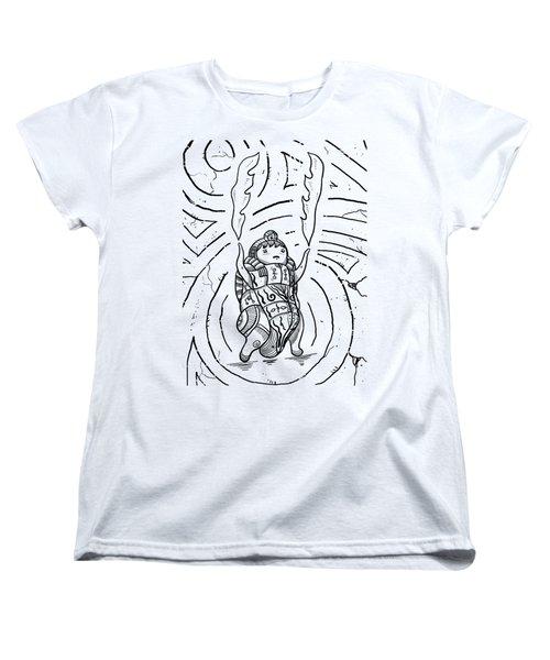 Firestarter Women's T-Shirt (Standard Cut) by Erki Schotter
