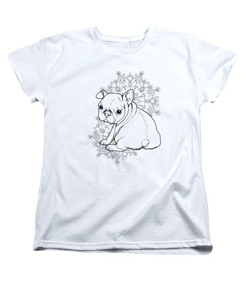French Bulldog Puppy Women's T-Shirt (Standard Cut) by Cindy Elsharouni