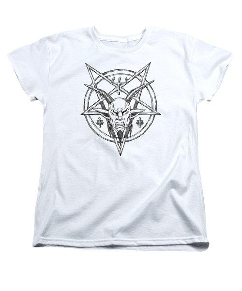 Goatlord Logo Women's T-Shirt (Standard Cut) by Alaric Barca