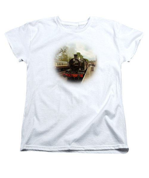 Goliath The Engine And Anna On Transparent Background Women's T-Shirt (Standard Cut) by Terri Waters