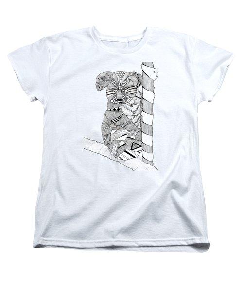 Goo Women's T-Shirt (Standard Cut) by Serkes Panda